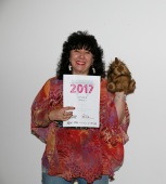 Gina and her ACT Writers Centre Award