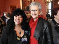 Gina and Emeritus Professor Belle Alderman, AM