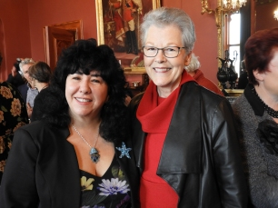 Gina and Emeritus Professor Belle Alderman, AM